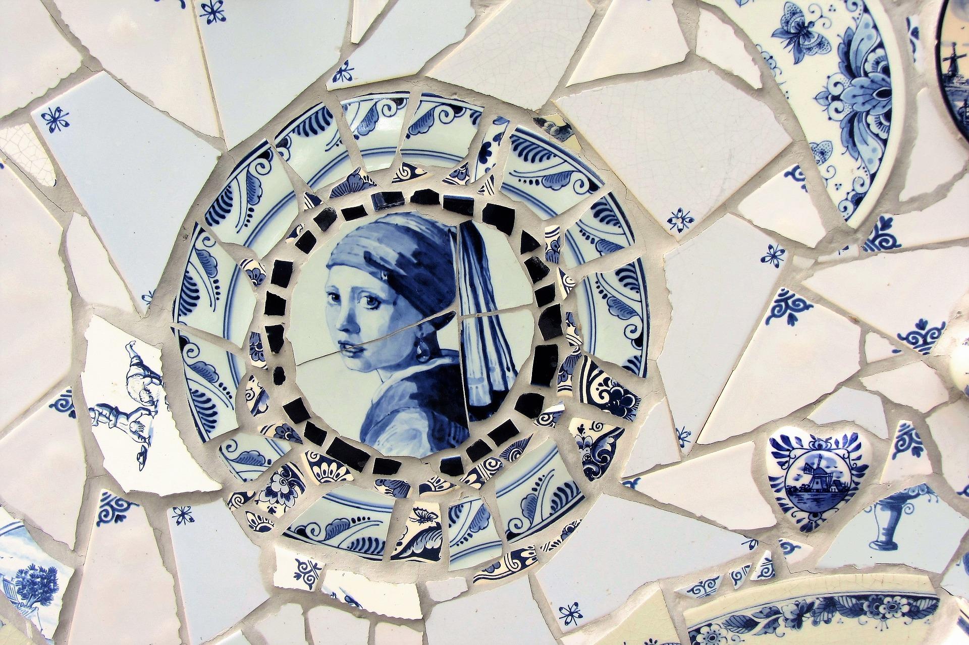 Delfts Blauwe Tegels : Tegels delft. tegels delft with tegels delft. good delft wandbord
